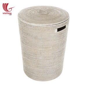 Rattan Laundry Storage Hamper Clothes