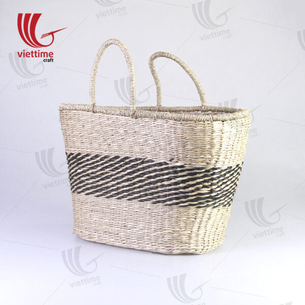 Perfect Accessory Oversized Seagrass Tote Bag