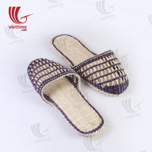 Fashion Wedge FlipFlop Knit Seagrass Slippers