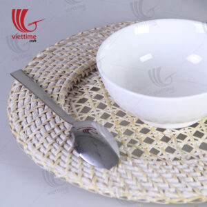 Hive Round Woven Rattan Charger Wholesales