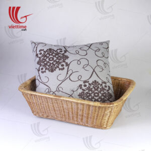 Curve Medium Rattan Storage Basket