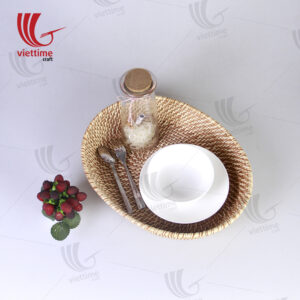 Best Woven Large Rattan Basket Tray