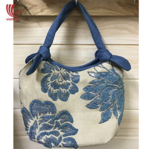 New Arrival Flower Embroidered Cloth Bag