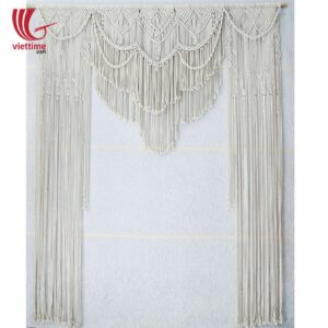 Wedding Backdrop Macrame Door Curtain