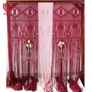 Luxury Wedding Backdrop Macrame Door Curtain