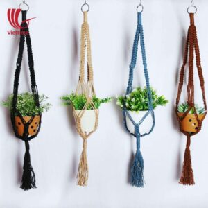 Outside Macrame Plant Hangers For Decoration