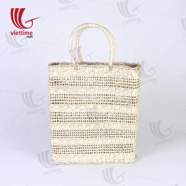 Southeast Asian Women's Seagrass Straw Bag