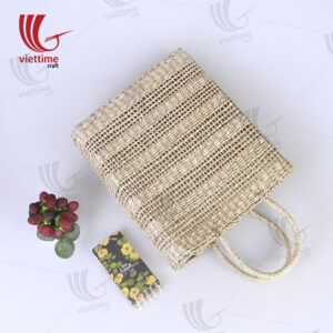 Southeast Asian Women's Seagrass Straw Bag