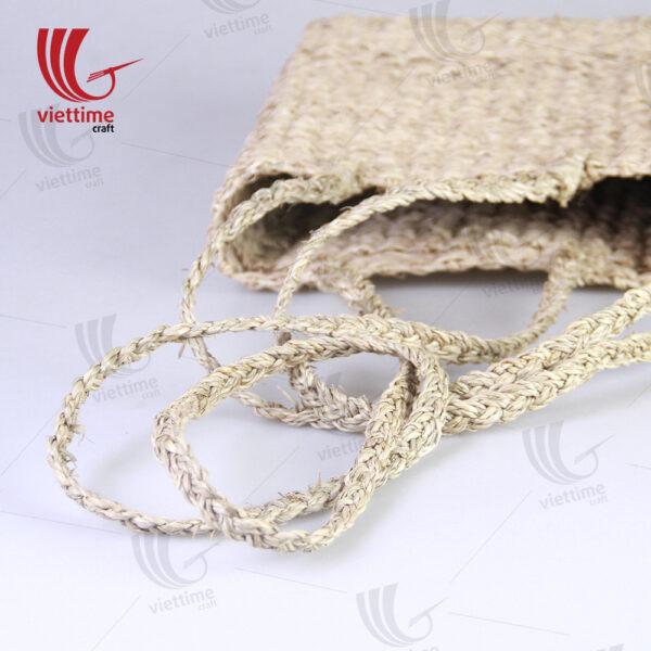 Handwoven Seagrass Cross Body Straw Bag