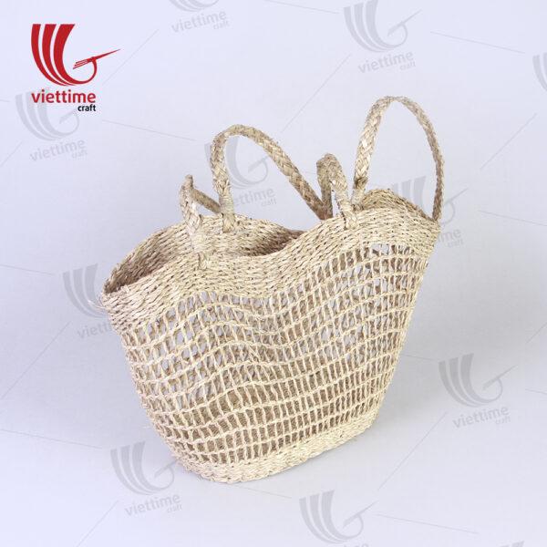 Useful Ideal Seagrass Tote Shoulder Bag