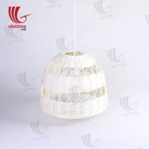 White Rattan Large Pendant Ceiling Lampshade