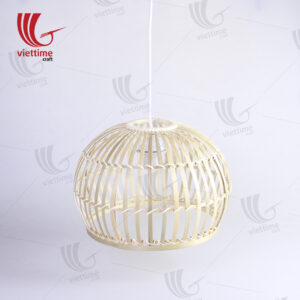Novelty Woven Round Bamboo Lampshade