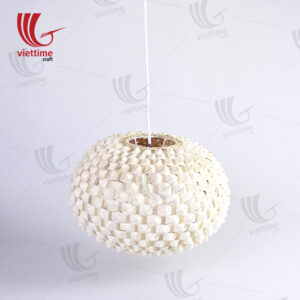 Attractive Palm Leaf Wicker Lamp Shades