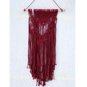Colorful Handmade Macrame Wall Hanging