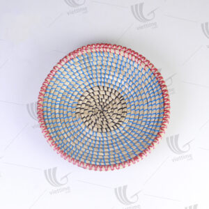 Seagrass Wall Hanging Plate sku C00421
