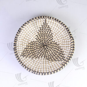 Seagrass Wall Hanging Plate sku C00423