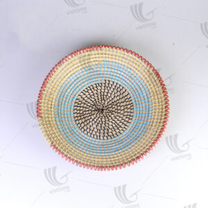 Seagrass Wall Hanging Plate sku C00426