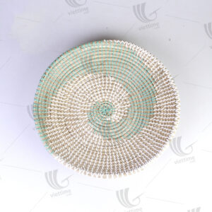 Seagrass Wall Hanging Plate sku C00428
