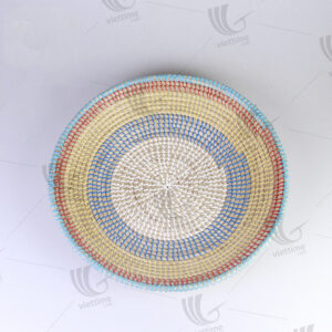 Seagrass Wall Hanging Plate sku C00430