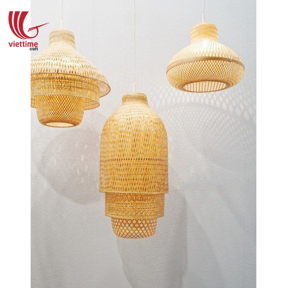 Traditional Simple Bamboo Lamp Shade Wholesale Viettime Craft