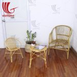 Rattan Coffee Table And Chairs