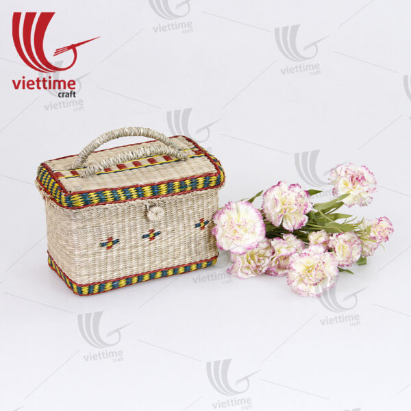 Seagrass Clutch Bag