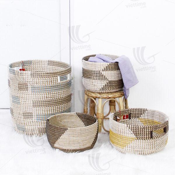Seagrass Storage Basket sku C00491