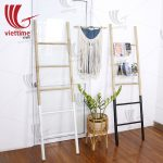 Bamboo Ladder Tower Rack