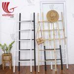 Bamboo Ladder Rack