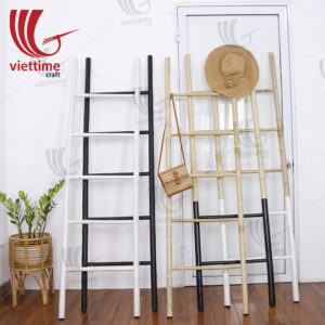 Bamboo Ladder Rack