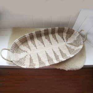 Seagrass Baby Changing Basket sku C00486