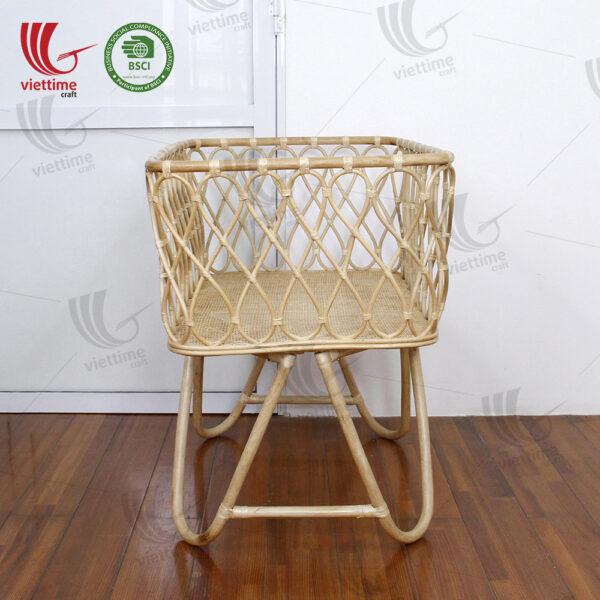 Rattan Crib