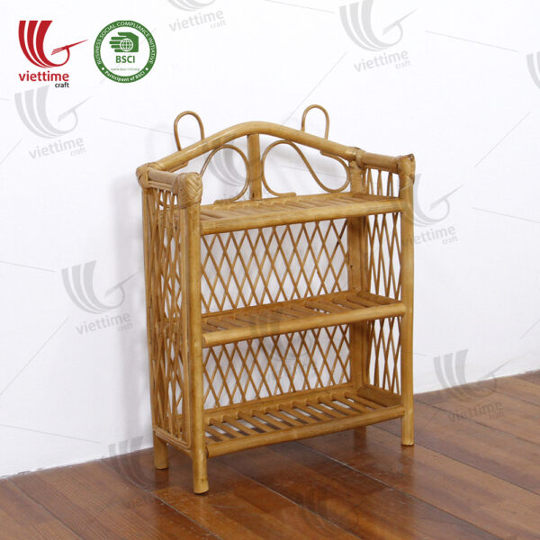 Rattan Wall Shelf