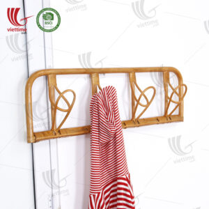 Rattan Coat Rack