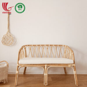 Rattan Bench Chair