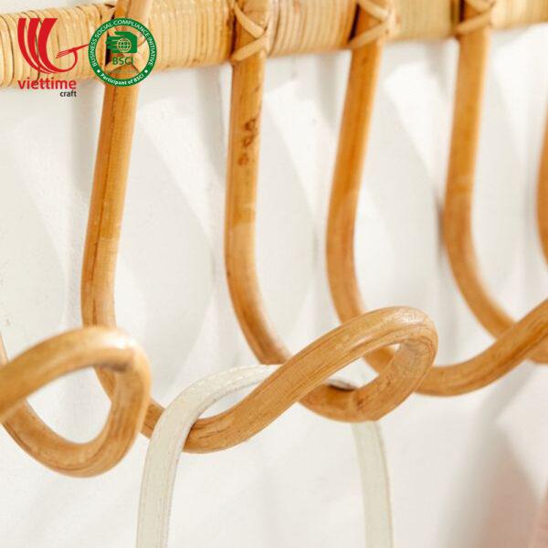 Rattan Clothes Hanging Rack