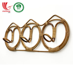 Rattan Coat Hanger Rack