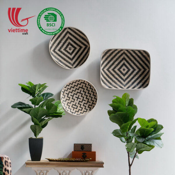 Bamboo Basket Wall Hanging