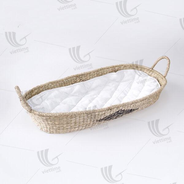 Seagrass Baby Changing Basket sku C00496