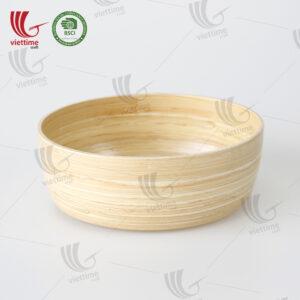 Spun Bamboo Bowls