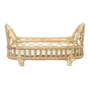 Rattan Doll Crib sku M00344