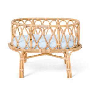 Rattan Doll Crib sku M00346