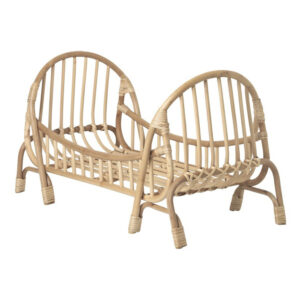 Rattan Doll Crib sku M00345