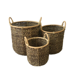 Seagrass Storage Basket sku C00511