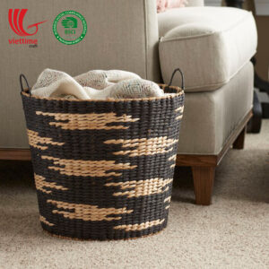Water Hyacinth Laundry Baskets