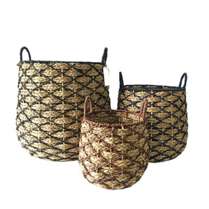 Seagrass Storage Basket sku C00512