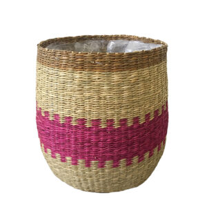 Seagrass Pot Plant Holder sku C00517