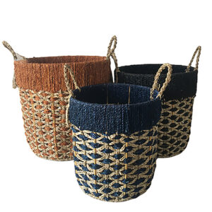 Seagrass Storage Basket sku C00518