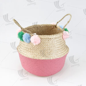 Seagrass Belly Basket sku C00525