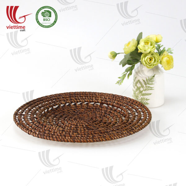 New Design Woven Rattan Placemat Wholesale